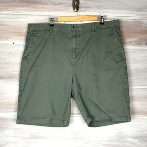 Old Navy Men's Green Chino Shorts Ultimate Slim